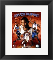Framed Kevin Durant 2011 Portrait Plus