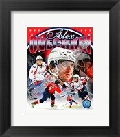 Framed Alex Ovechkin 2011 Portrait Plus
