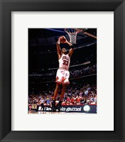 Framed Scottie Pippen 1996 Action