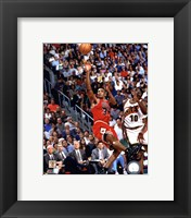 Framed Scottie Pippen Game 4 of the 1996 NBA Finals Action