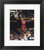 Framed Julius Erving Action