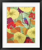 Framed Floral Folio X