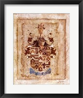 Framed Crest of Valor I