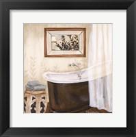 Zen Bath II Framed Print