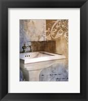 Bath Room & Ornaments II Framed Print