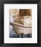 Framed Bath Room & Ornaments I