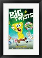 Framed SpongeBob SquarePants - Big Twists