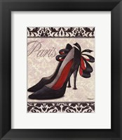 Framed Classy Shoes II - mini