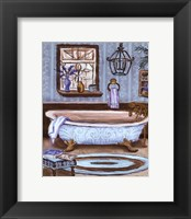 Tranquil Tub I - mini Framed Print