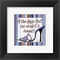 Framed Girly Shoe II - petite