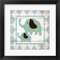 Framed Elephants