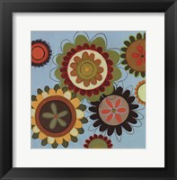 Framed Zinnia Awesome II - mini