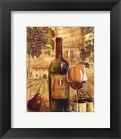 Wine Collage I - mini Framed Print