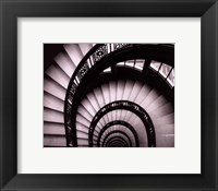 Rookery Stairwell - mini Framed Print