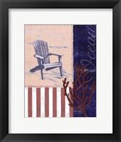 American Coastal IV Framed Print
