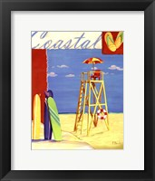 Lifeguard Collage IV Framed Print