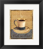 Coffee Club III- Mini Framed Print