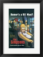 Framed Simpsons Homer's a Hit Man?