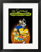 Framed Simpsons Treehouse of Horror