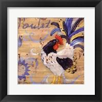 Royale Rooster IV Framed Print