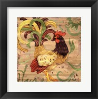 Royale Rooster III Framed Print