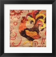Royale Rooster II Framed Print