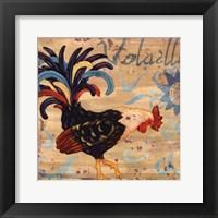 Royale Rooster I Framed Print