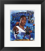 Framed Dwight Howard 2011 Portrait Plus