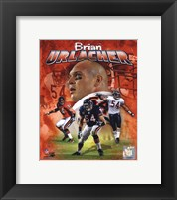 Framed Brian Urlacher 2011 Portrait Plus