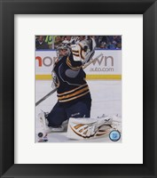Framed Ryan Miller 2010-11 Action