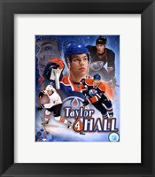 Framed Taylor Hall Portrait Plus