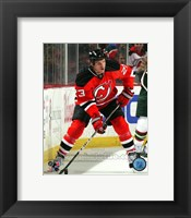 Framed David Clarkson 2010-11 Action