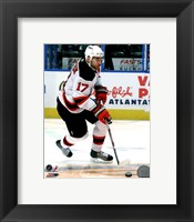 Framed Ilya Kovalchuk 2010-11 Action