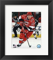 Framed Jeff Skinner 2010-11 Action
