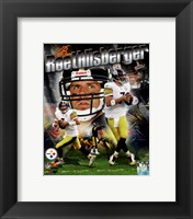 Framed Ben Roethlisberger 2011 Portrait Plus