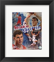 Framed Blake Griffin 2011 Portrait Plus