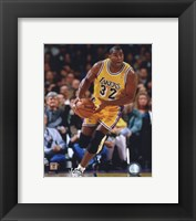 Framed Magic Johnson 1995-96 Action