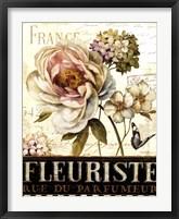 Marche de Fleurs II Framed Print