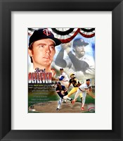 Framed Bert Blyleven Legends Composite