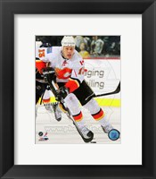 Framed Olli Jokinen 2010-11 Action