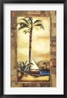 Framed Tropical Gold I