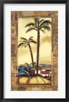Framed Tropical Gold II