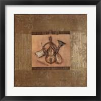 Framed Classical Instrument II