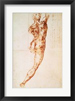 Framed Nude, study for the Battle of Cascina