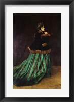 Framed Camille, or The Woman in the Green Dress, 1866