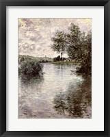 Framed Seine at Vetheuil, 1879