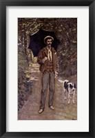 Framed Man with an Umbrella, c.1868-69
