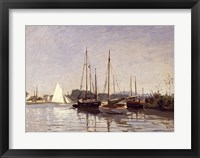 Framed Pleasure Boats, Argenteuil, c.1872-3