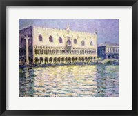 Framed Ducal Palace, Venice, 1908