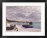 Framed Beach at Sainte-Adresse, 1867